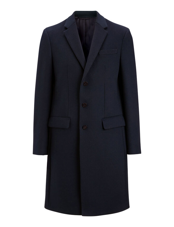 Joseph, London Tailored Coat, in NAVY