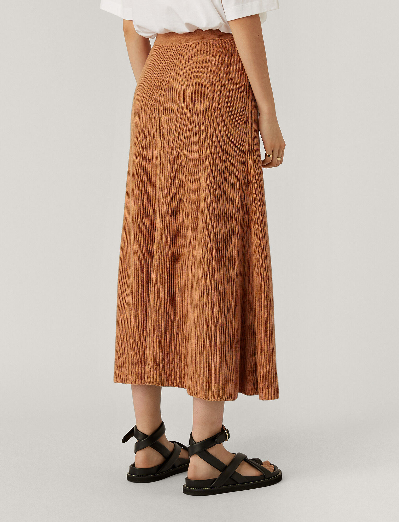 Joseph, Cote Anglaise Skirt, in DUSTY ROSE