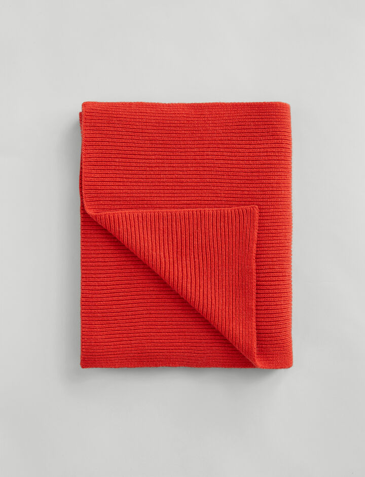 Joseph, Wool Cashmere Scarf, in DARK ORANGE