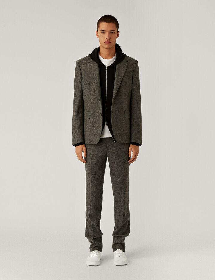 Joseph, Saxony Stretch Jacket Jackets, in Grey