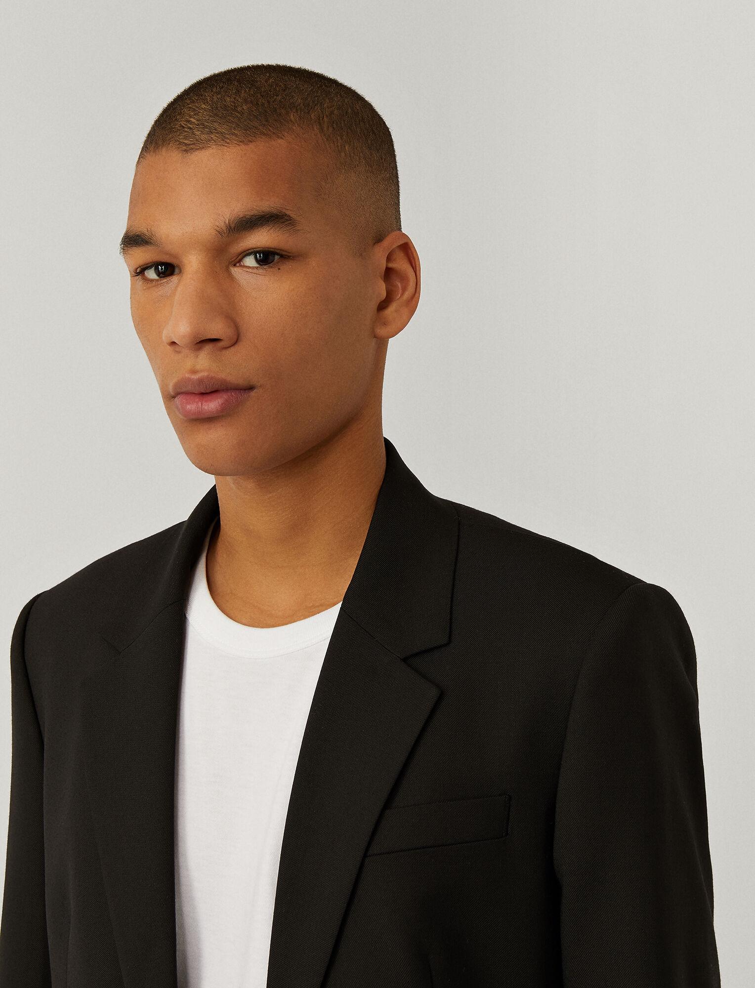 Joseph, Techno Wool Stretch Jacket, in BLACK