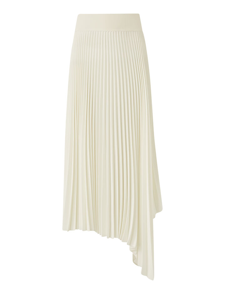 Joseph, Swinton-Pleated Rib, in IVORY