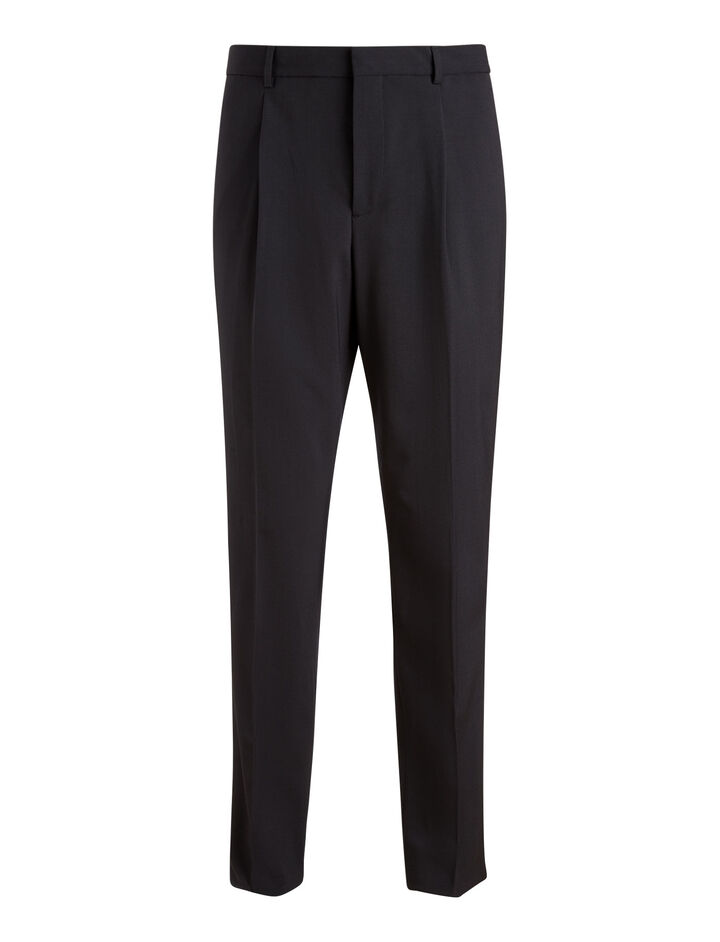 Joseph, Emile Techno Wool Stretch Trousers, in NAVY