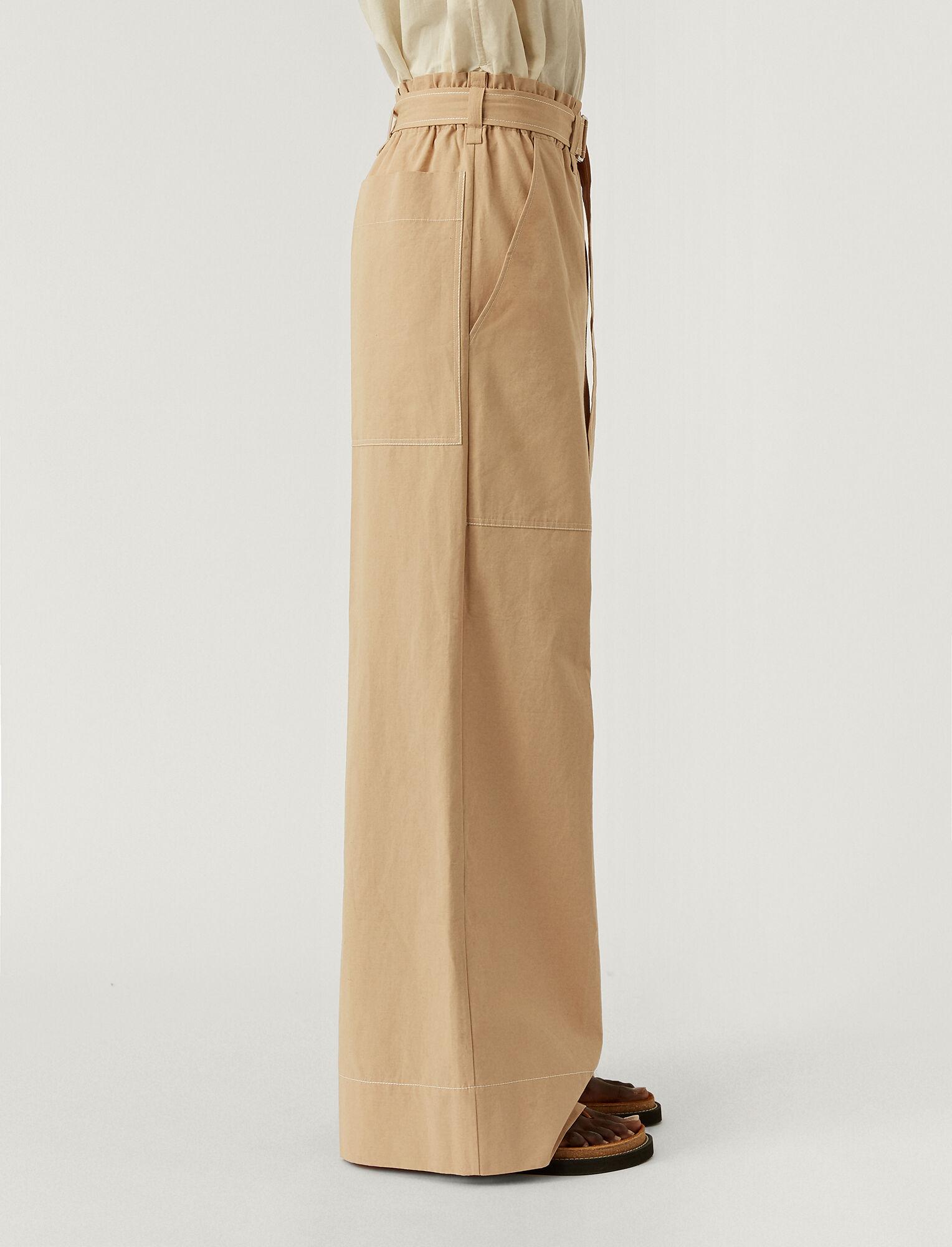 Joseph, Cotton Linen Taika Trousers, in LINEN