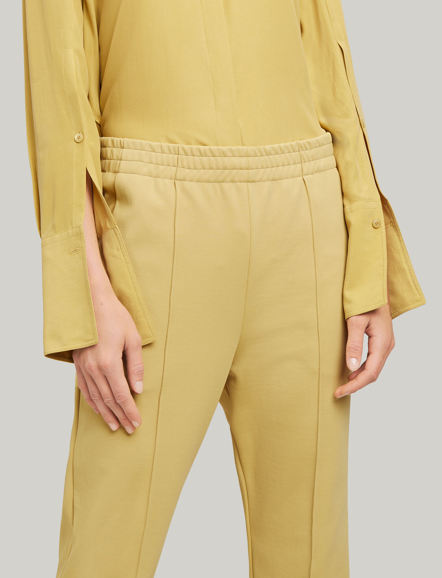 Joseph, Jog Technical Jersey Trousers, in DIJON