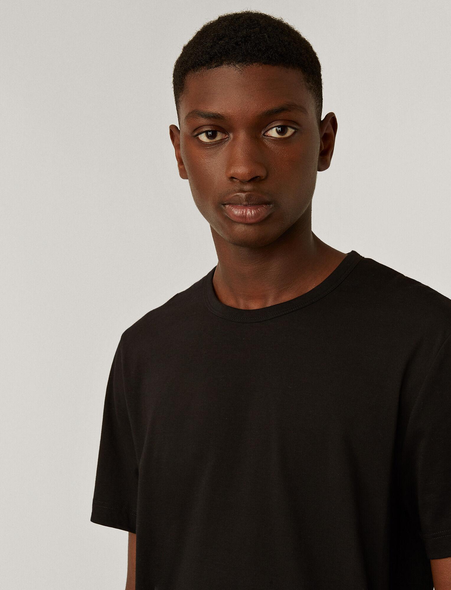 Joseph, Haut en jersey mercerisé, in BLACK
