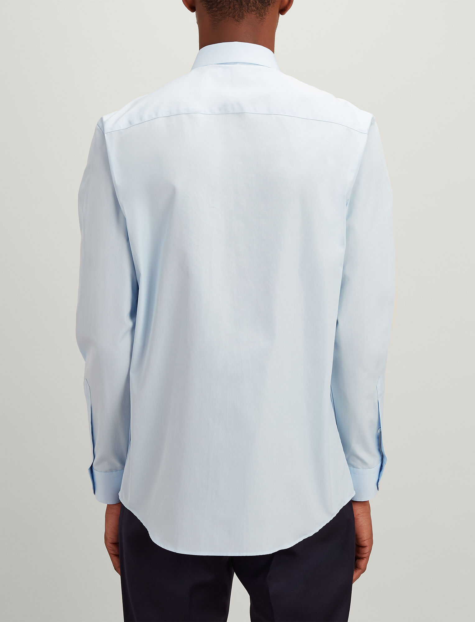 Joseph, Poplin John Shirt, in PALE BLUE