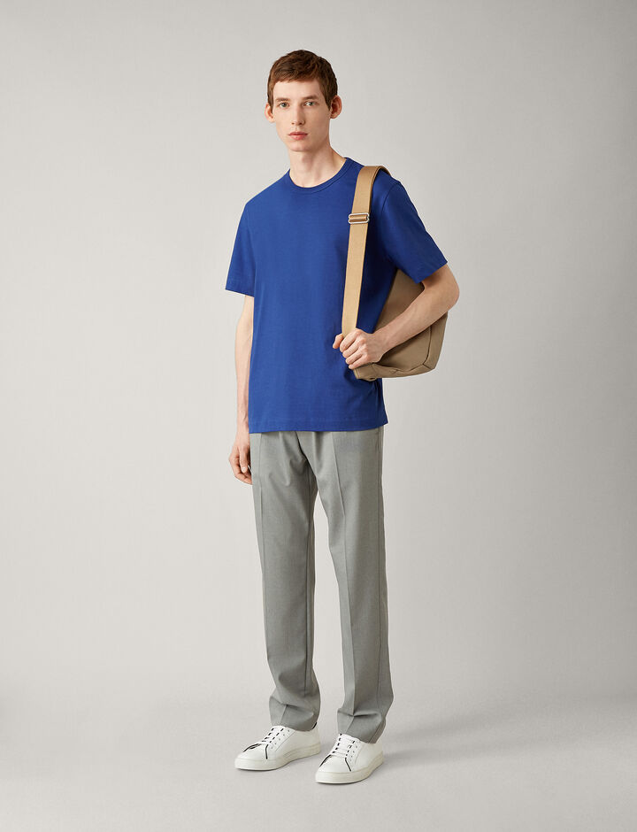 Joseph, Crew Nk Ss-Perfect Tee, in KLEIN