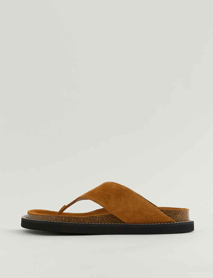 Joseph, Fussbett Thong Sandal, in OAK