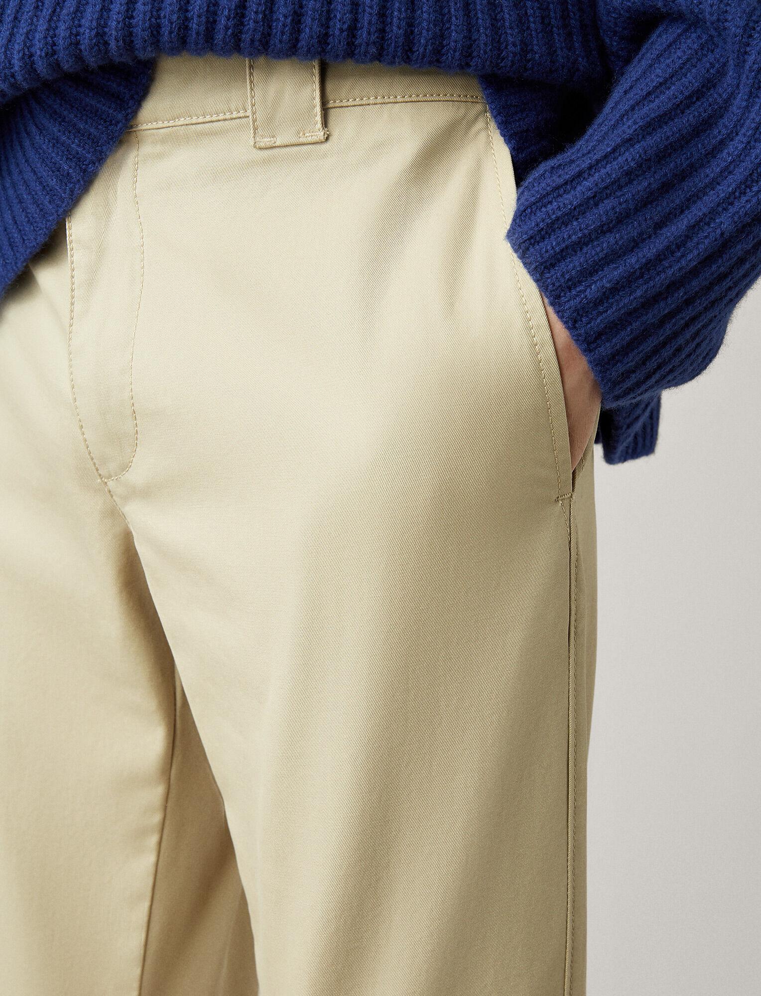 Joseph, Pantalon de travail Weymouth en twill, in SAND