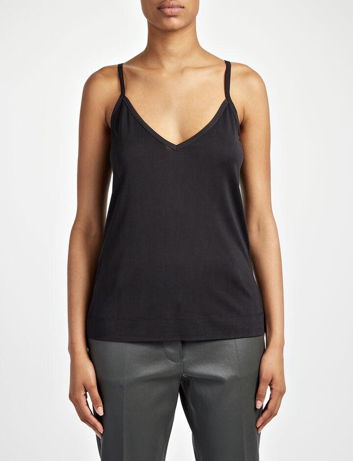 Joseph, Silk Jersey Camisole, in BLACK