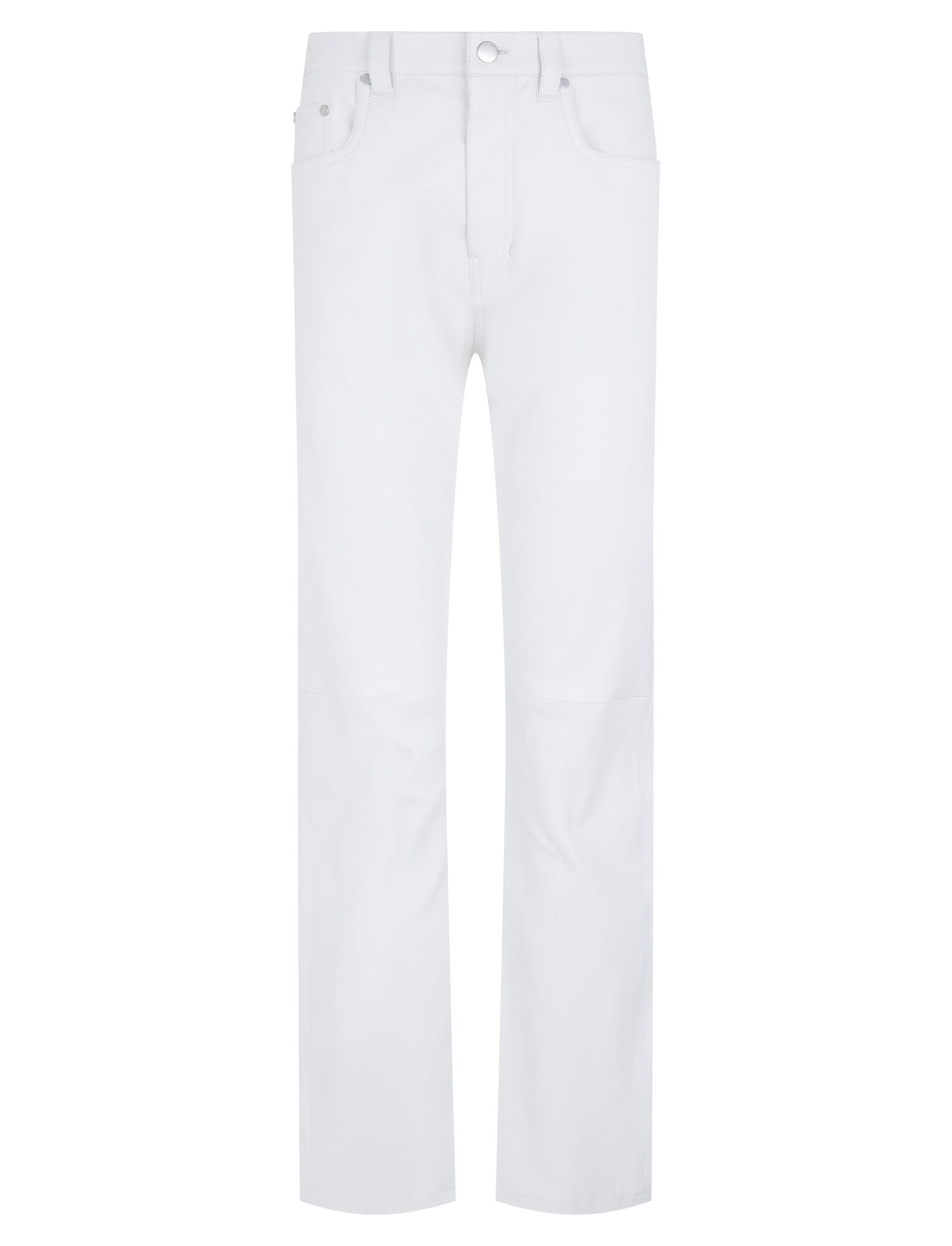 Joseph, Kemp Stretch Leather Trousers, in OFF WHITE