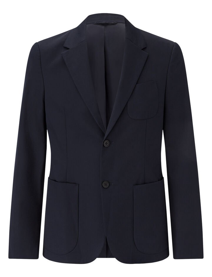 Joseph, Cassis-Fine Gabardine Stretch, in NAVY