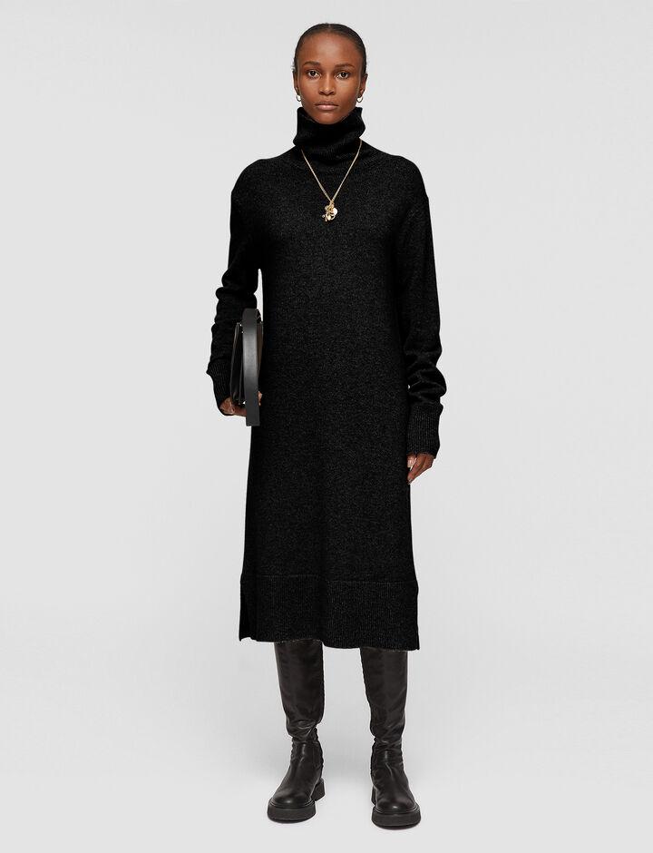 Joseph, Pure Cashmere Dress, in BLACK