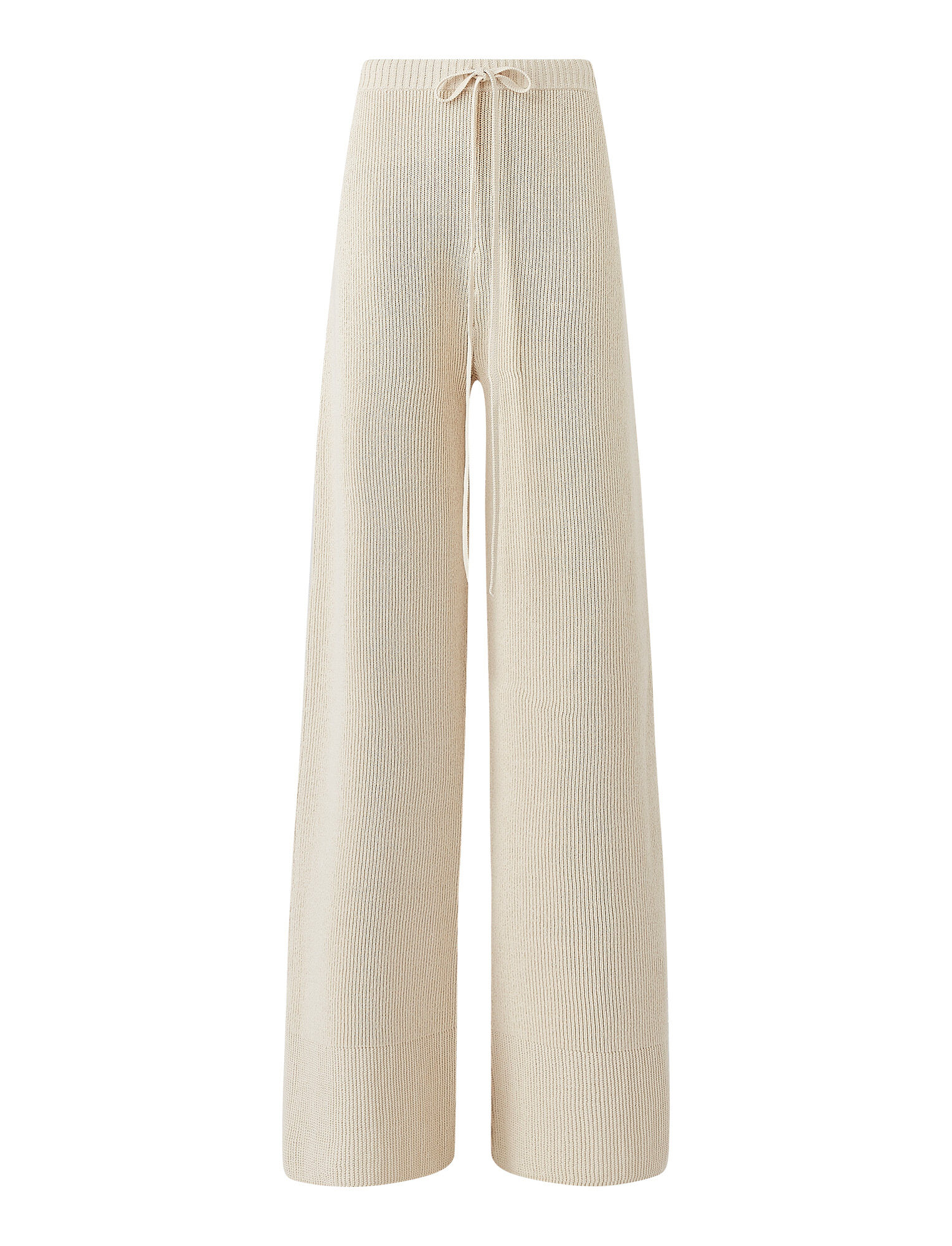 Joseph, Crispy Cotton Trousers, in PORCELAIN