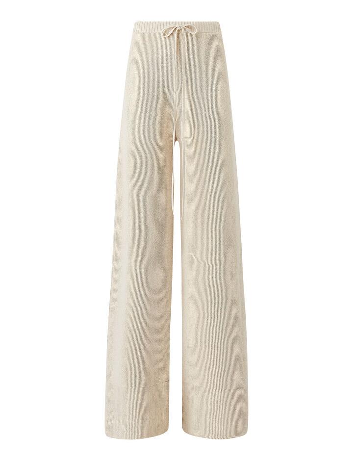 Joseph, Pants-Crispy Cotton, in PORCELAIN