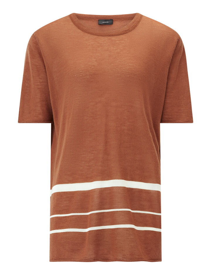 Joseph, Ss Tee-Cashair Novelty, in RUST