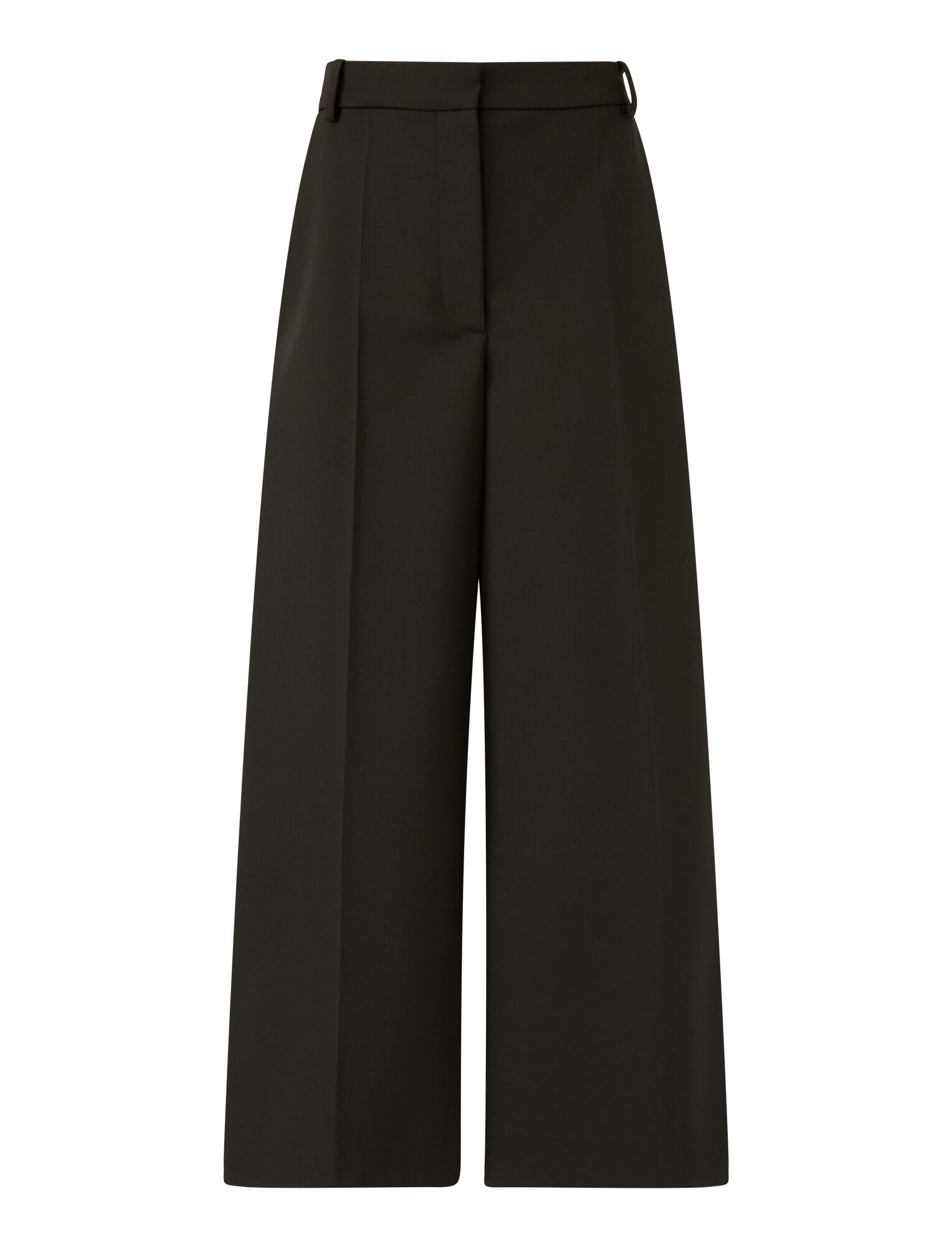 Joseph, Travis Wool Granite Trousers, in Black