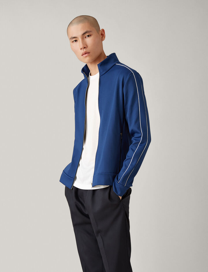 Joseph, Track Top Technical Jersey, in ROYAL BLUE