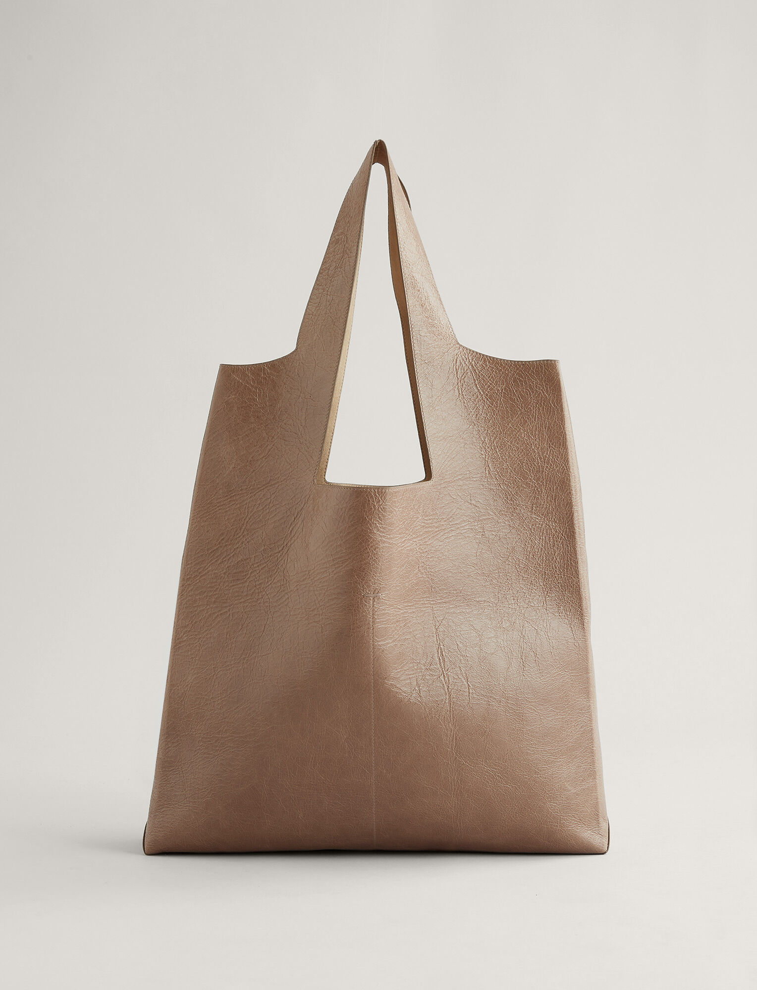 Joseph, Westbourne Leather Bag, in TAUPE