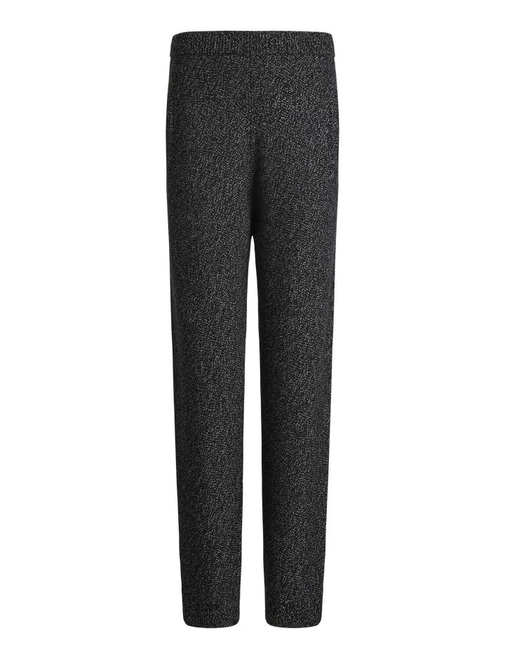 Joseph, Mouline Knit Jog, in CHARCOAL CHINE