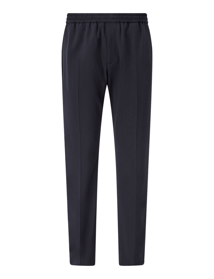 Joseph, Ettrick-Techno Wool Stretch, in NAVY