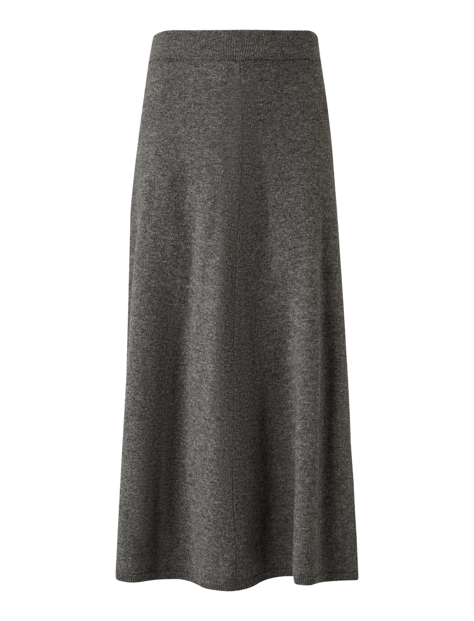 Joseph, Wool Cashmere Knit Skirt, in DARK GREY