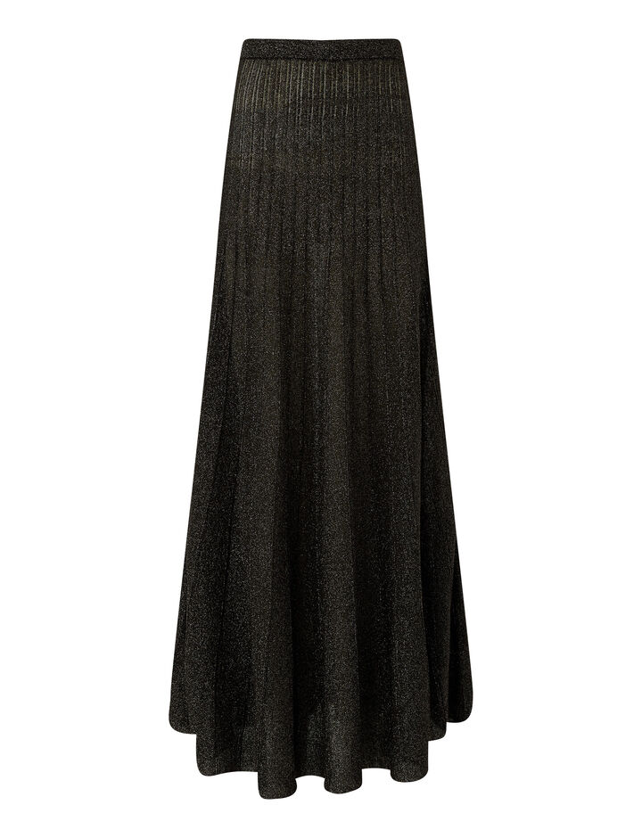 Joseph, Skirt-Lurex, in BLACK