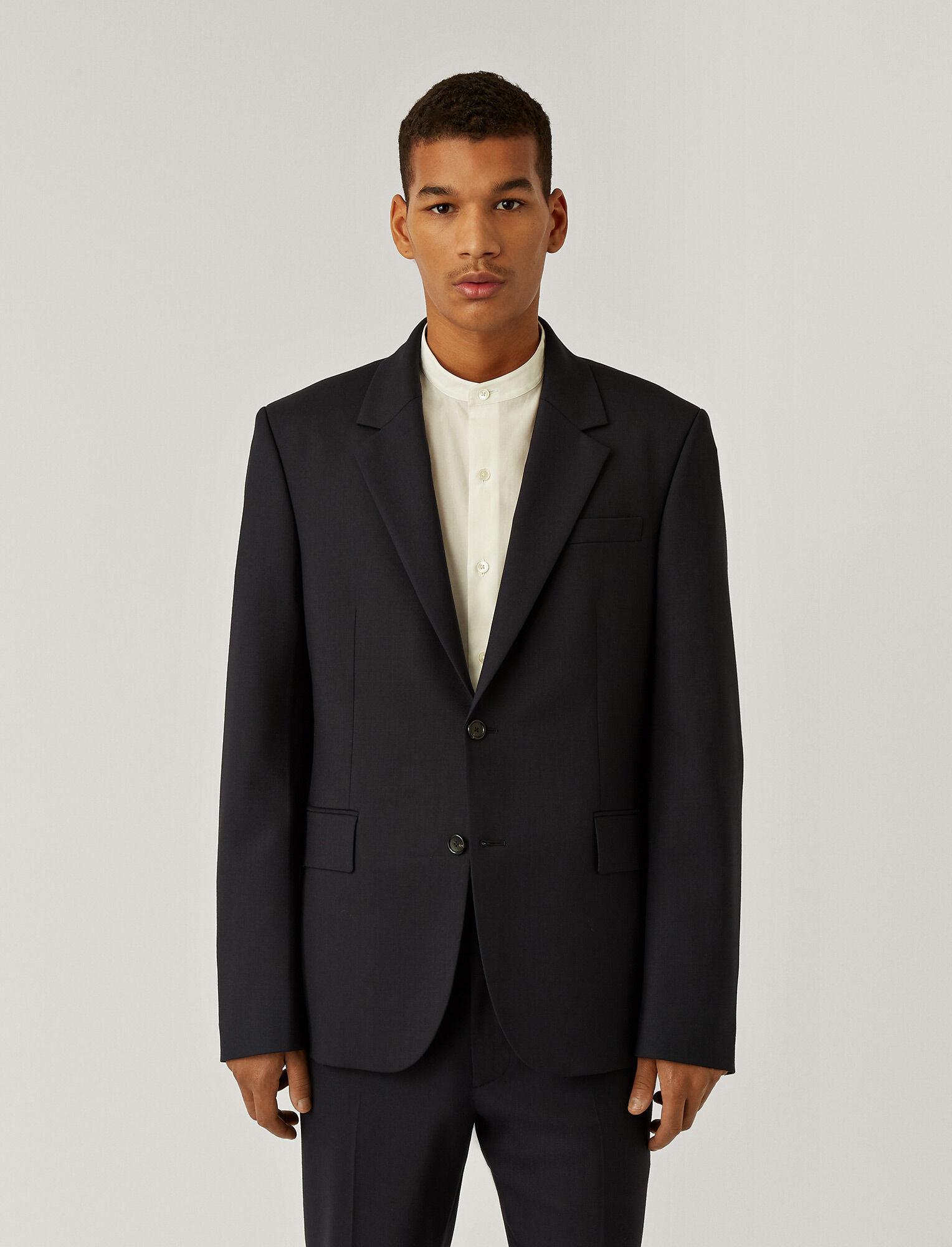 Joseph, Techno Wool Stretch Jacket, in NAVY
