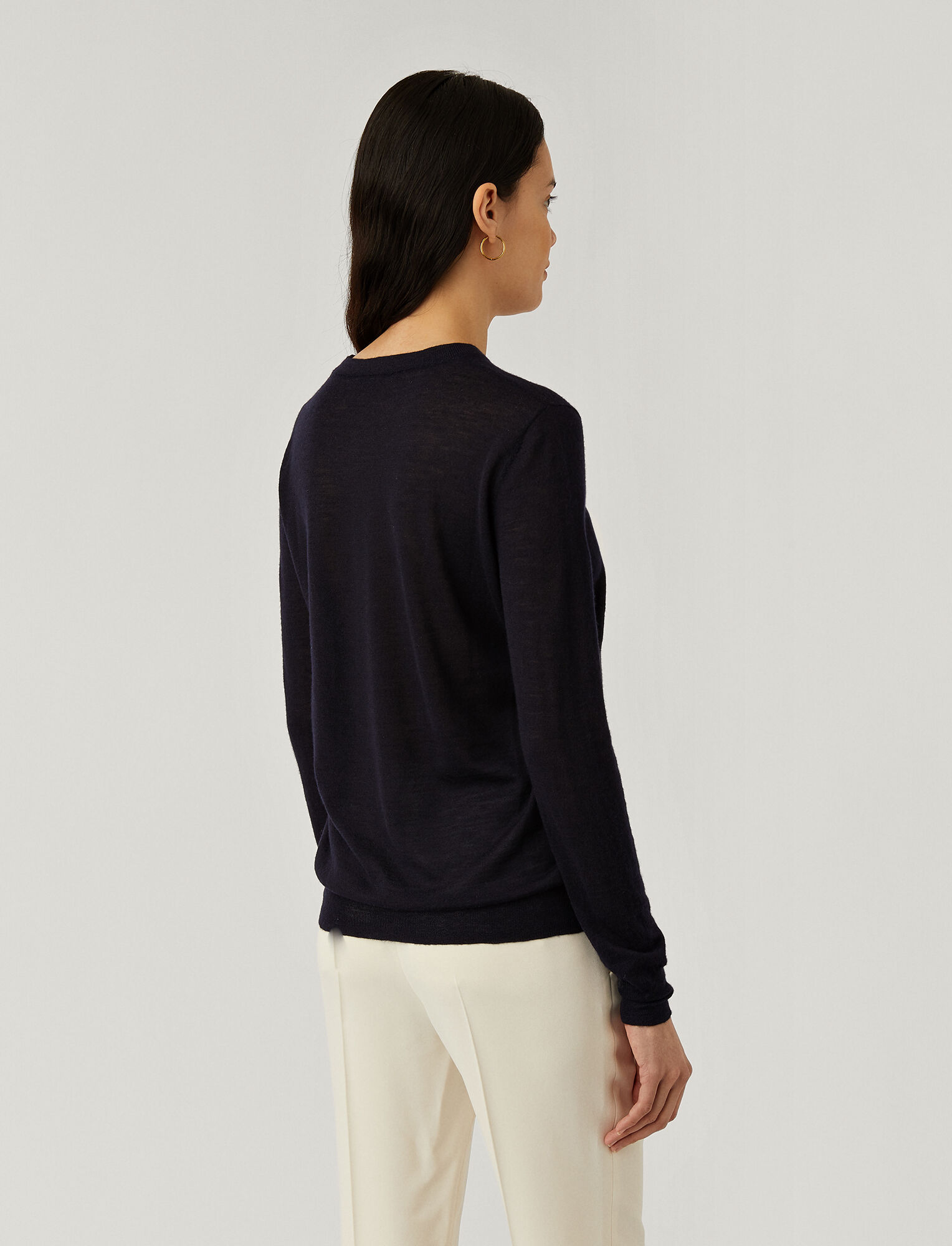 Joseph, Cashair Knit, in NAVY