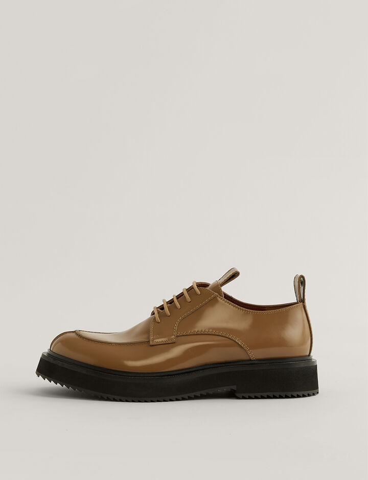 Joseph, British Lace Up Shoes, in Beach