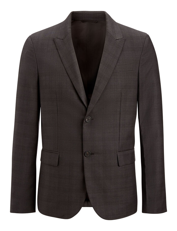 Joseph, Freddy Check Suiting Jacket, in BLACK