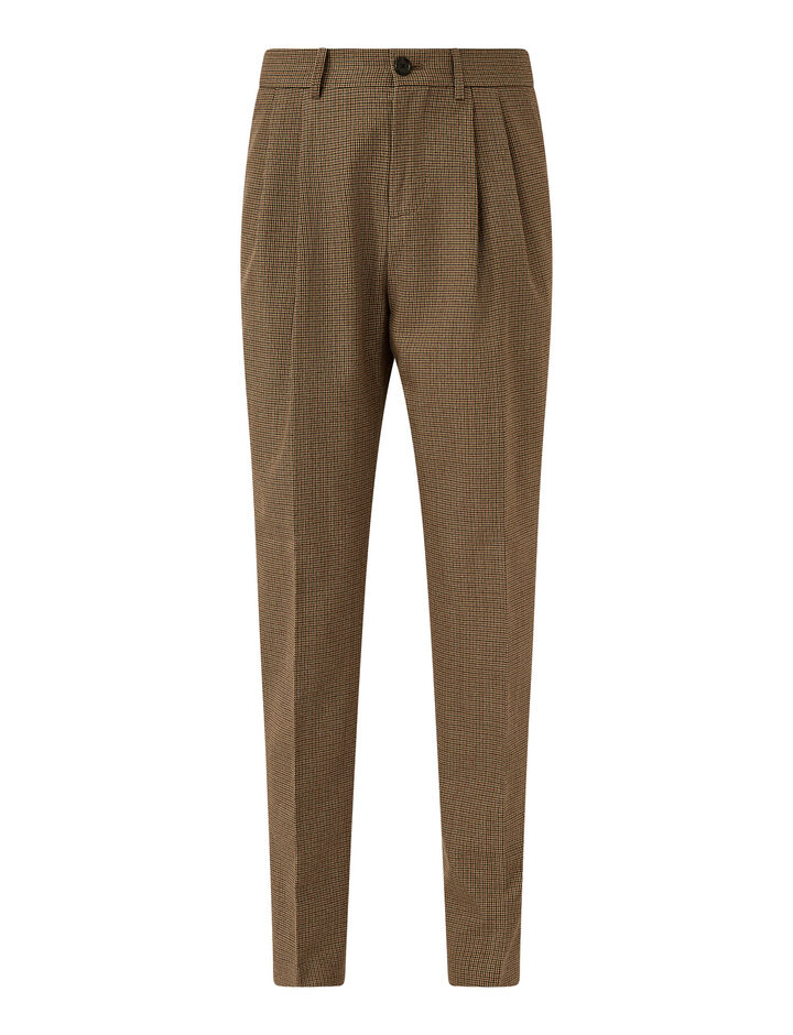Joseph, Covert Gunclub Trousers Trousers, in Beige