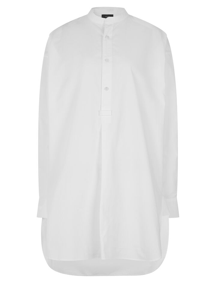 Joseph, Edwin Poplin Shirt, in WHITE