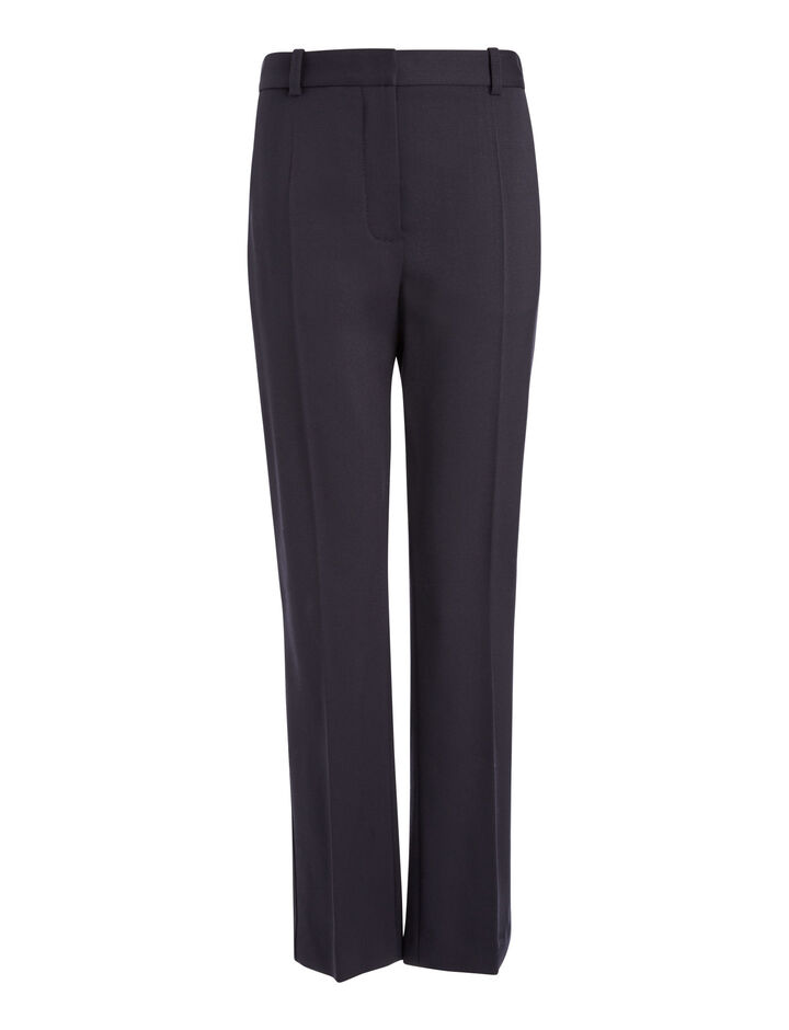 Joseph, Stretch Wool Zoom Trousers, in NAVY