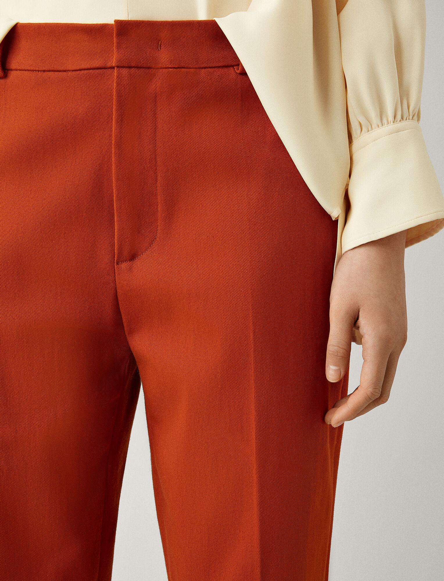 Joseph, Coman Drill Stretch Trousers, in TAN