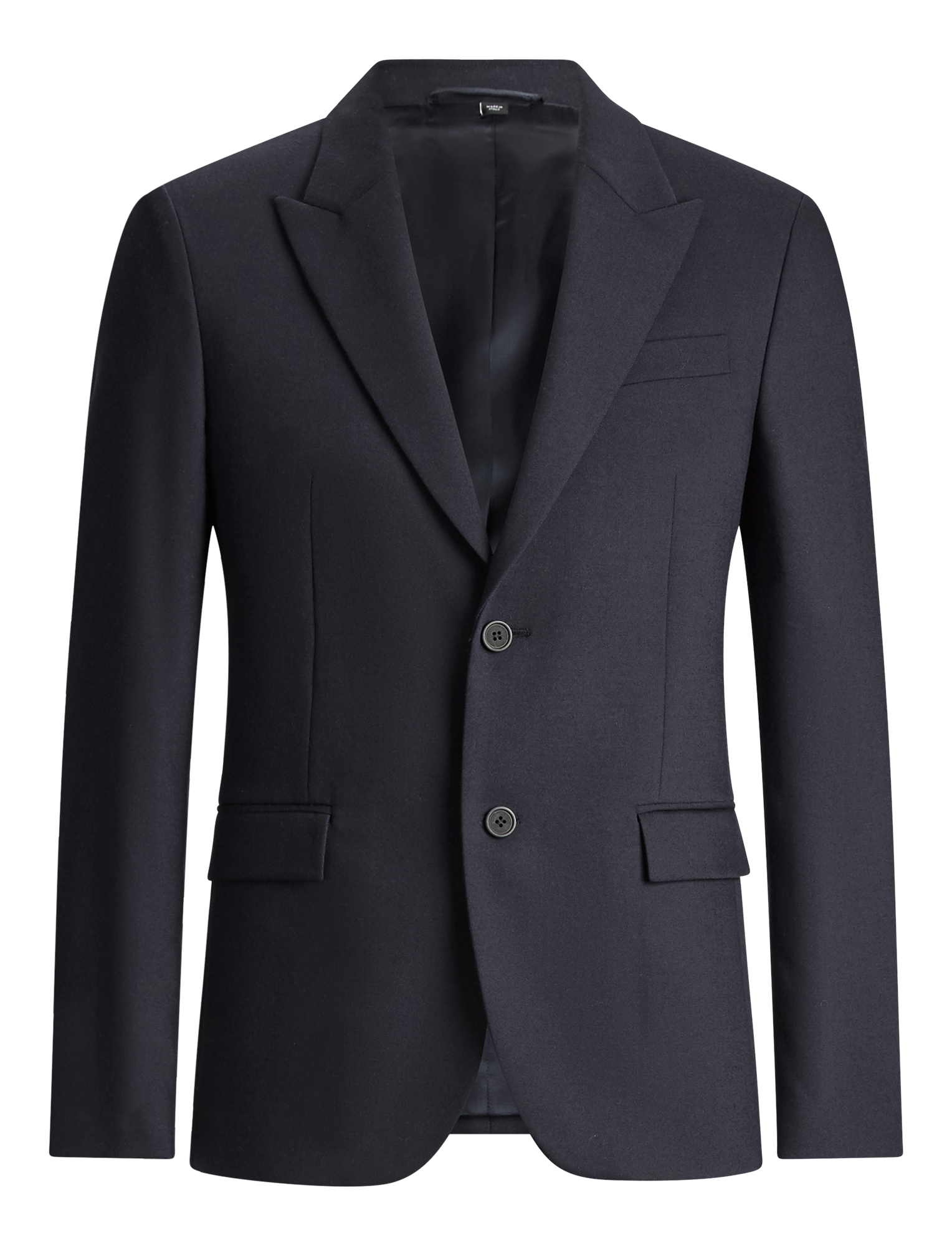 Joseph, Cannes Flannel Stretch Jacket, in NAVY