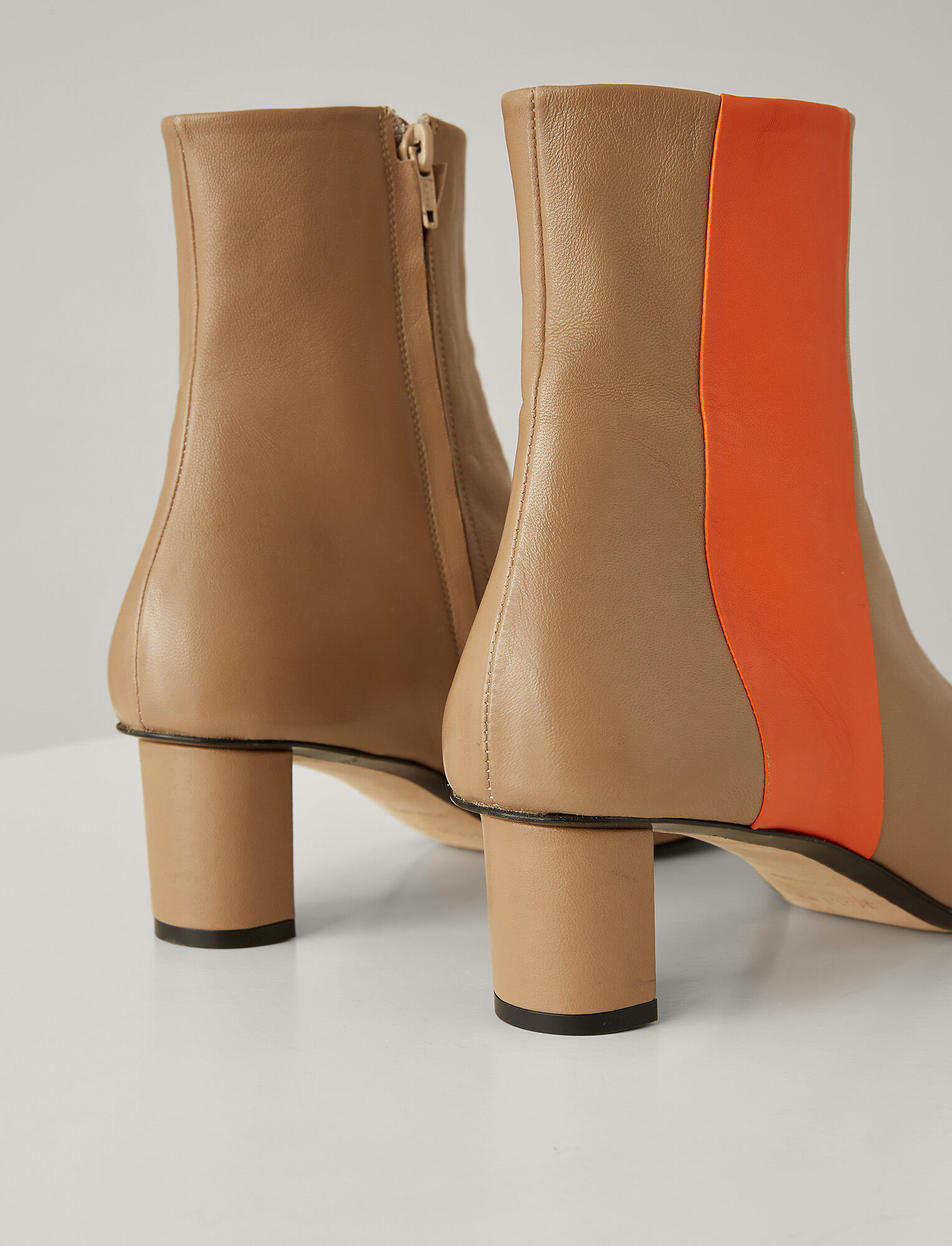 Joseph, Bottines Avenue en Super cuir, in TAN