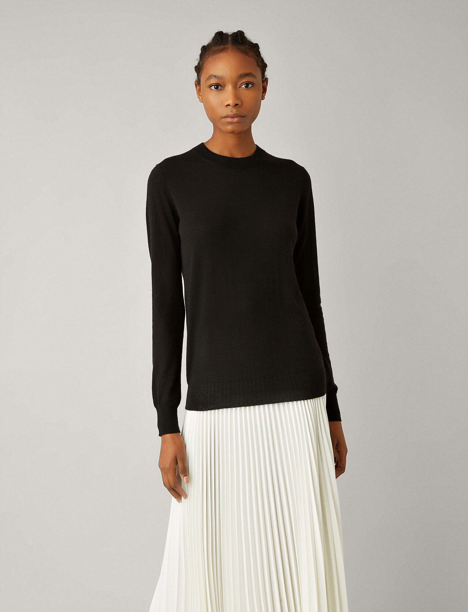 Joseph, Cashair Knit, in BLACK