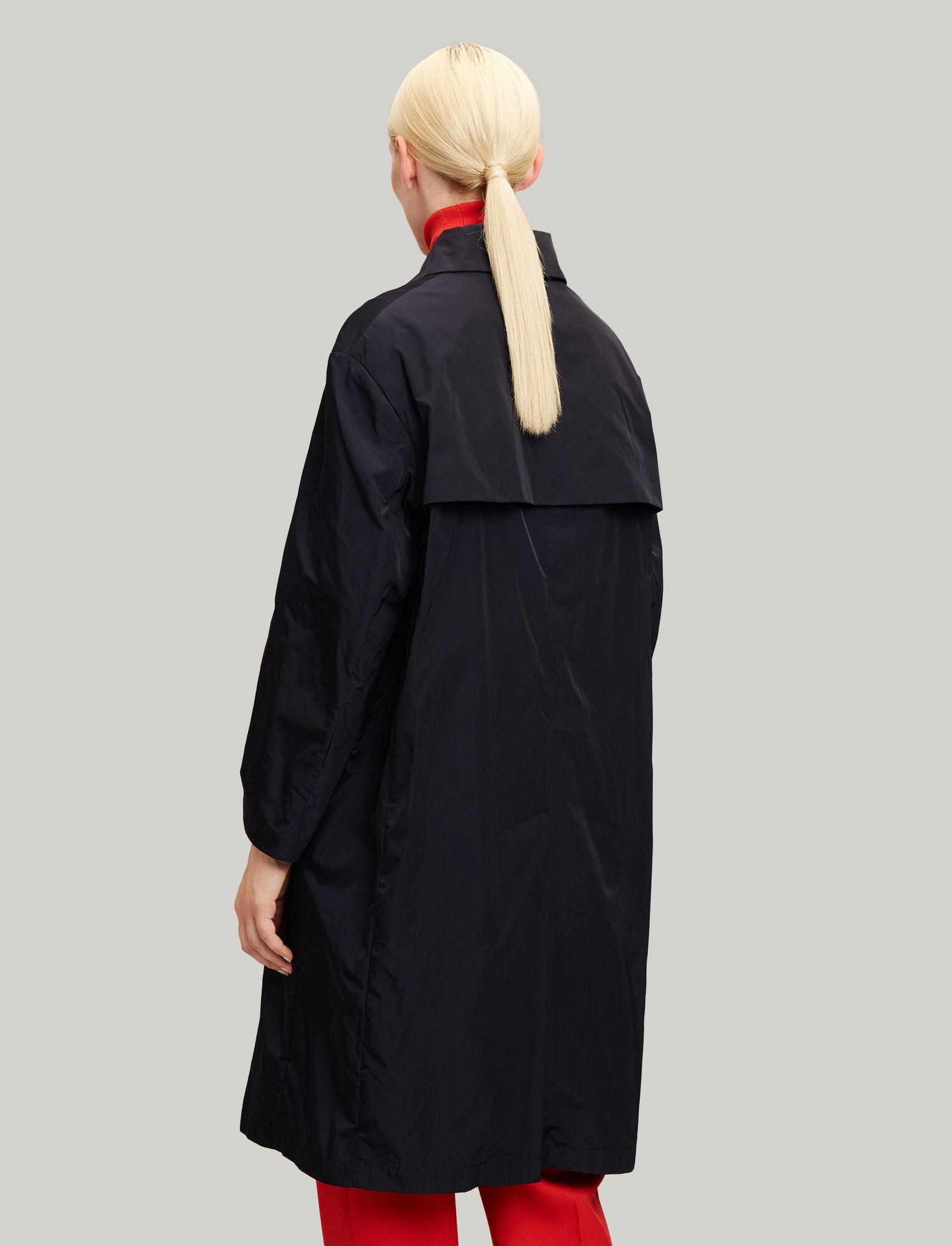 Joseph, Richter Taffeta Nylon Coat, in NAVY