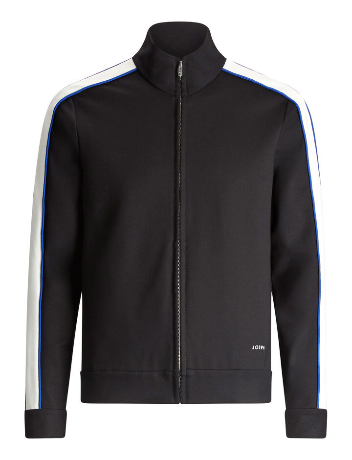 Joseph, Sprint Jersey Tracktop, in BLACK