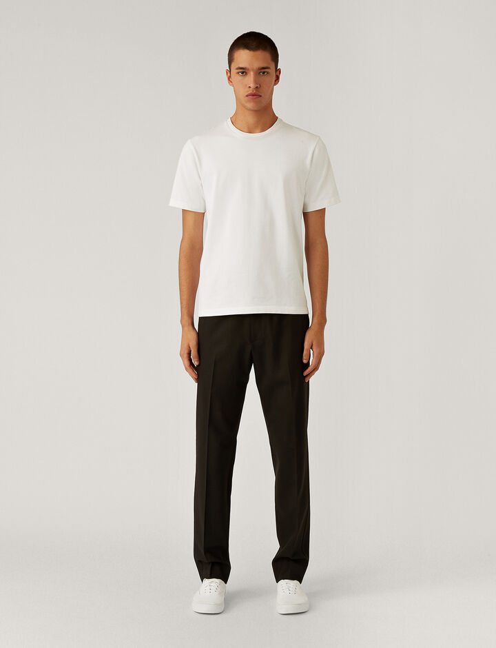 Joseph, Techno Wool Stretch Trousers Trousers, in Black