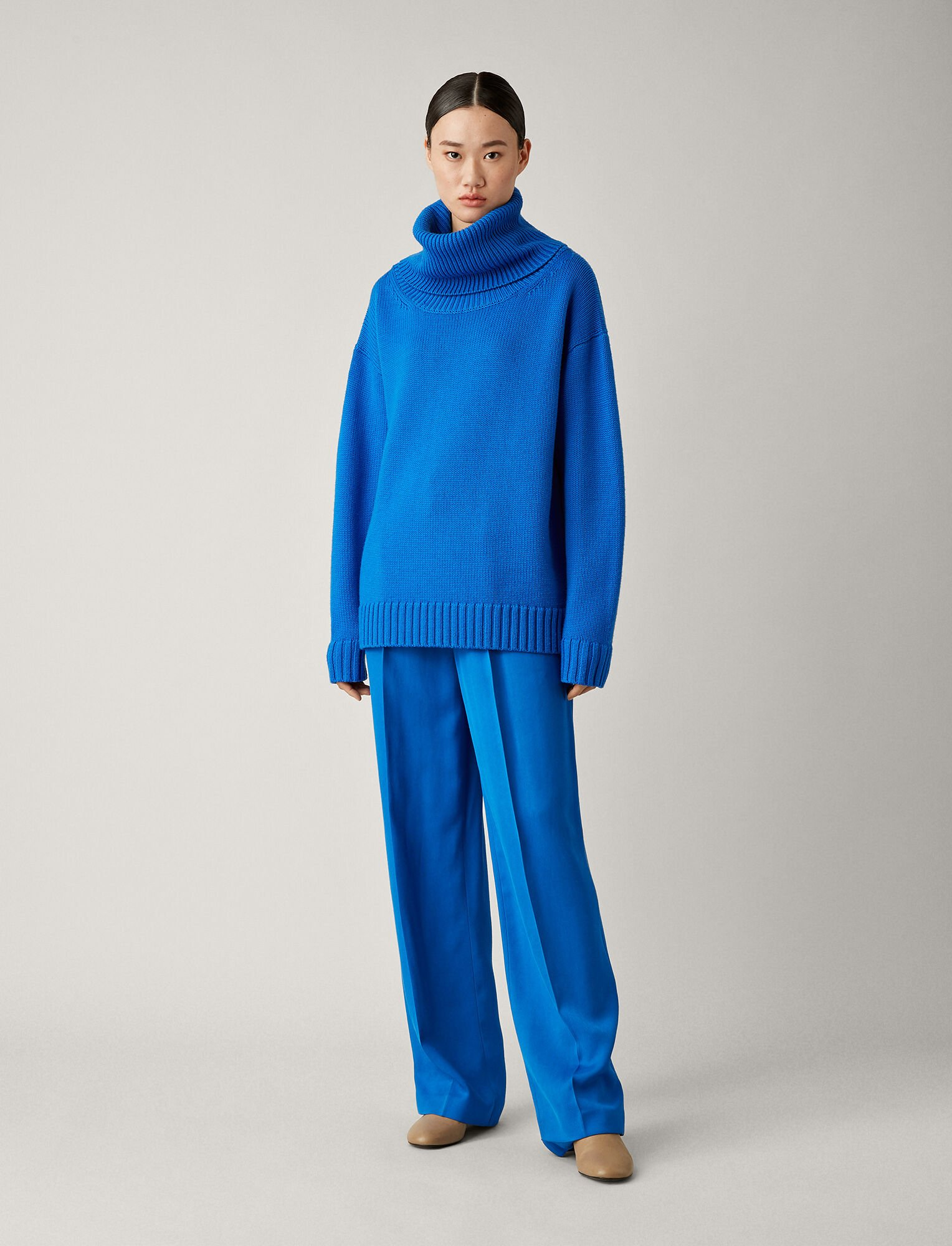 Joseph, Tricot Joe Osize Sloppy, in PLASTIC BLUE