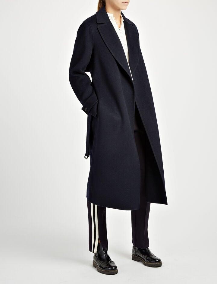 Joseph, Double Face Cashmere Dale Coat, in NAVY