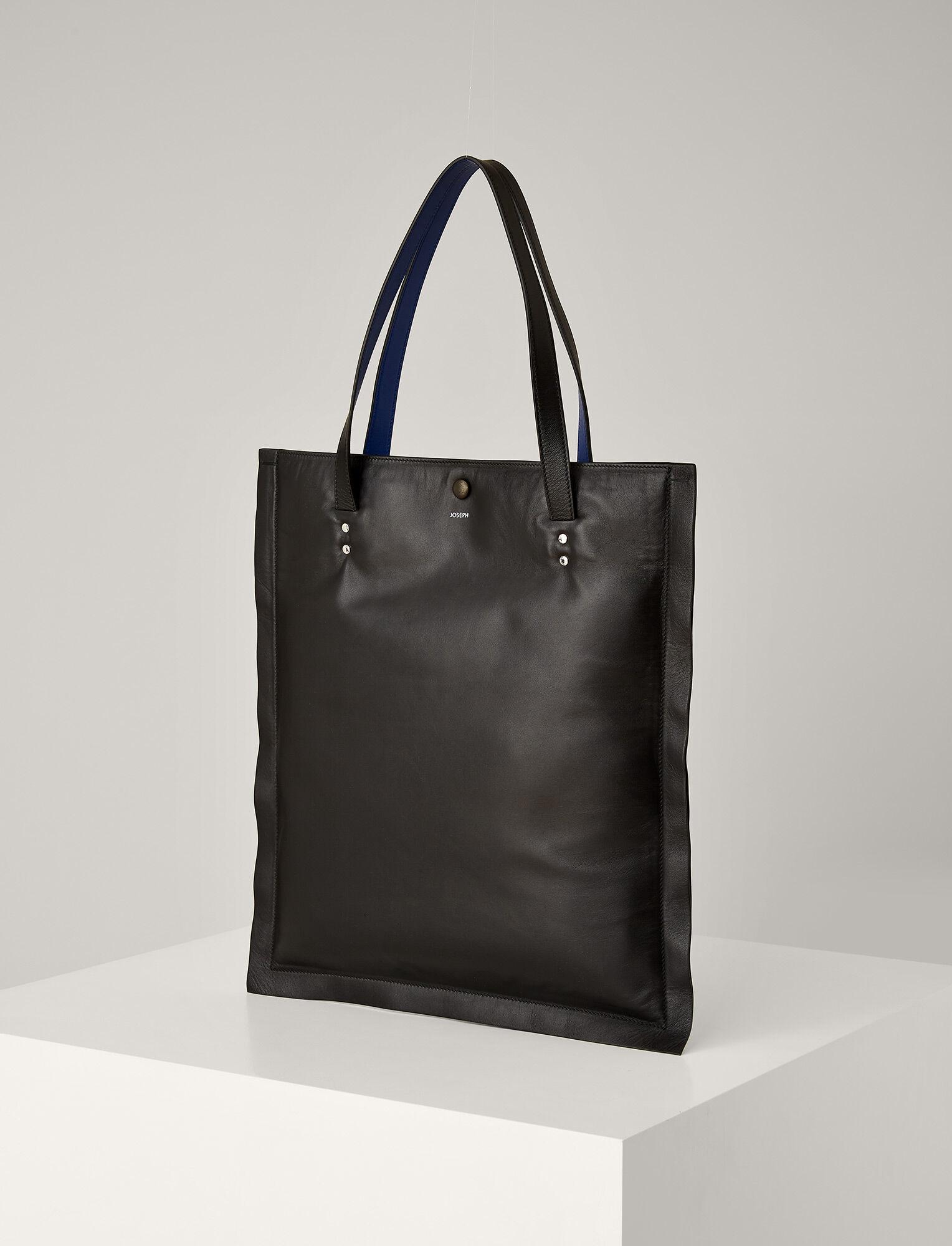 Joseph, Marcel Nappa Leather Bag, in BLACK
