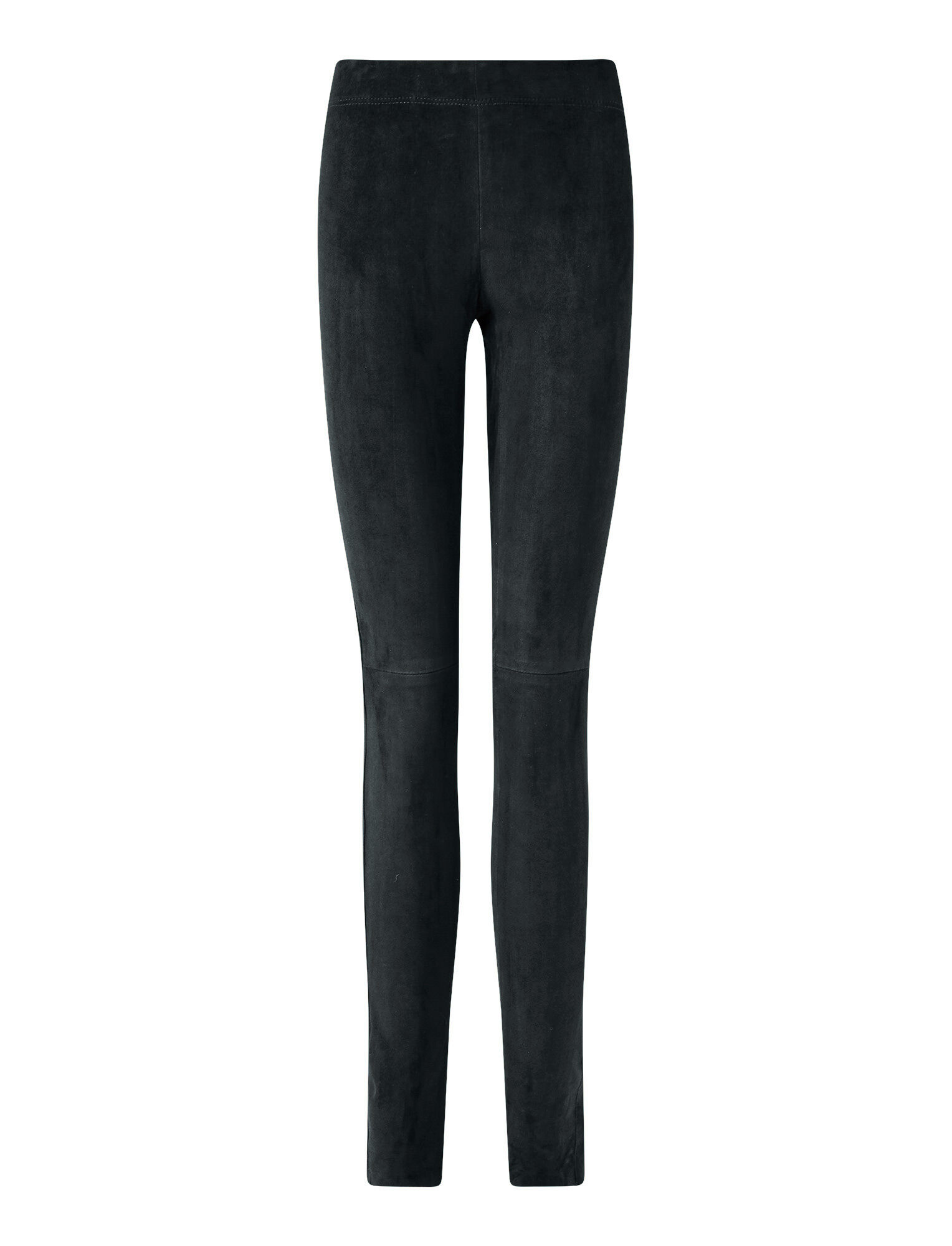 Joseph, Suede Stretch Legging, in Petrol