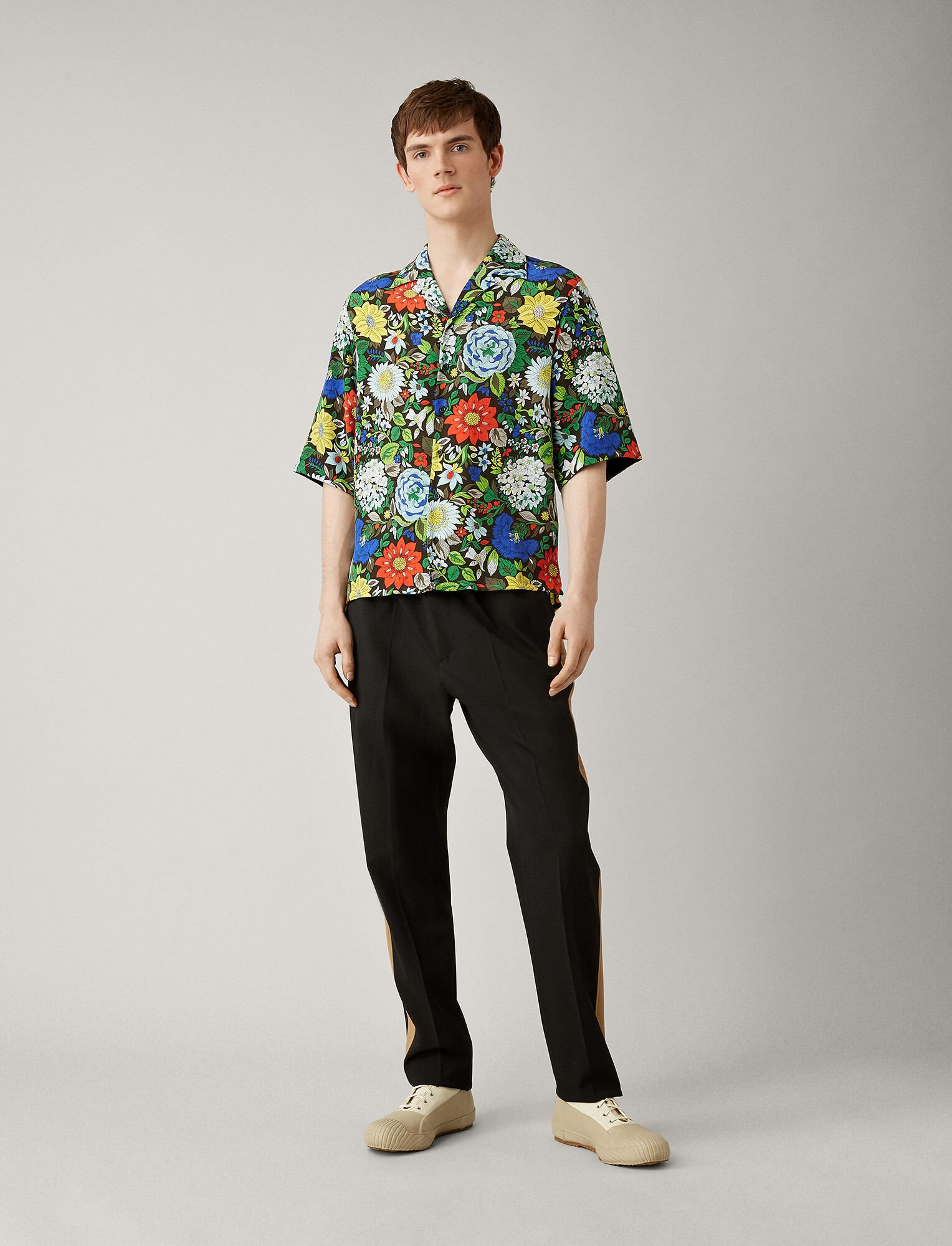 Joseph, Marittima Botanical Floral Shirt, in MULTICOLOUR