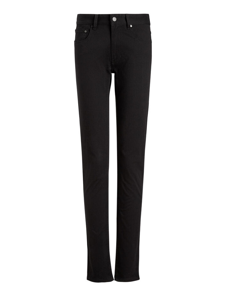 Joseph, Cloud Drill Stretch Trousers, in BLACK