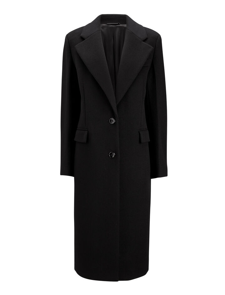 Joseph, Magnus Tailored Coat, in BLACK