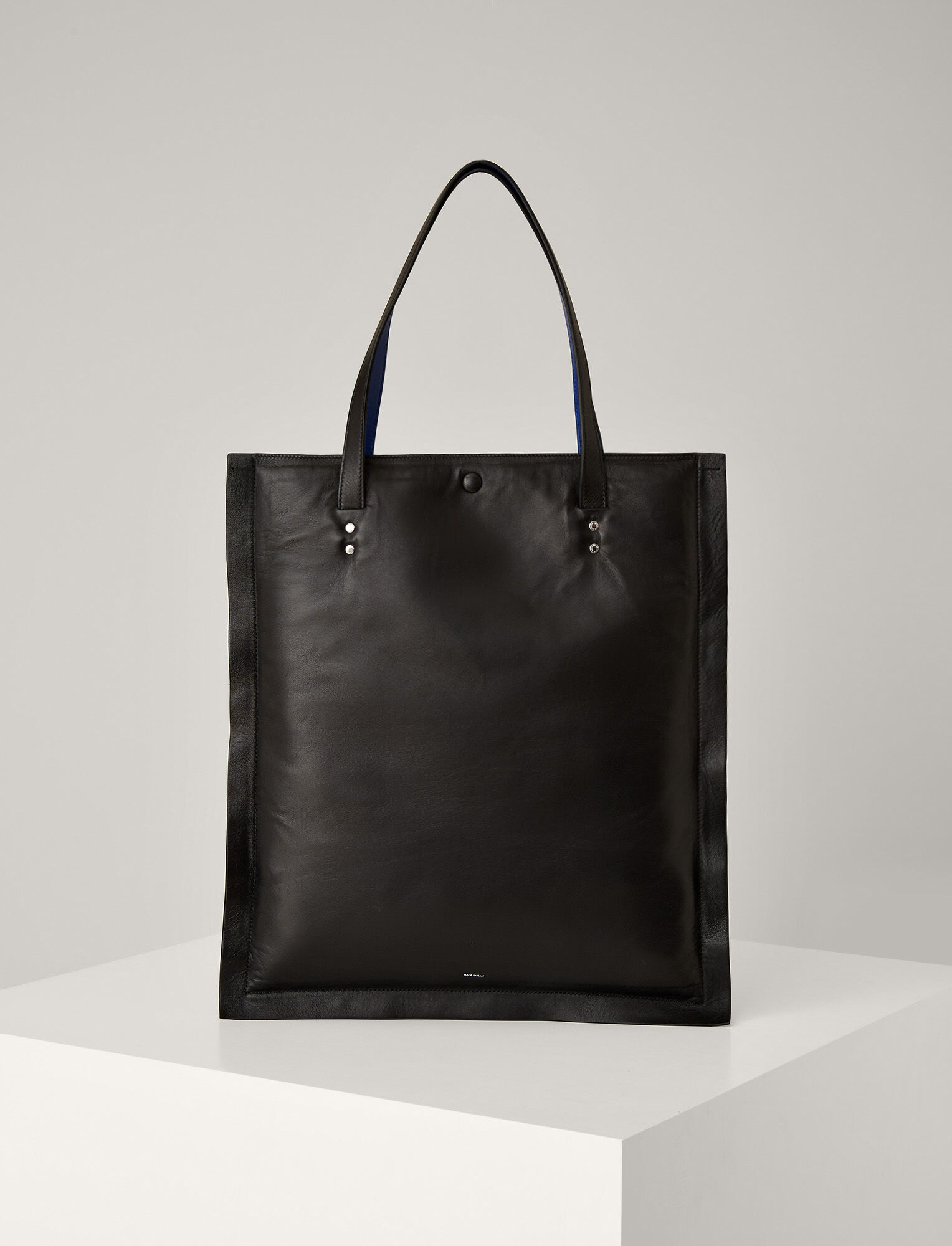 Joseph, Marcel Nappa Leather Bag, in BLACK